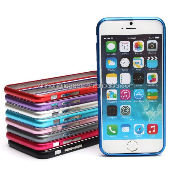 Super Thin Slim Aluminum Metal Frame Bumper Case For iPhone 6-4.7 Inch, Aluminum Case For IPhone 6
