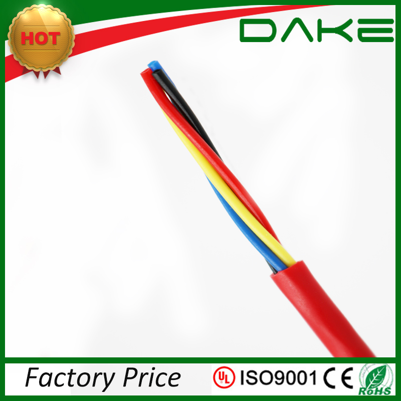 CE/RoHS approved 4 core 24awg security alarm cable