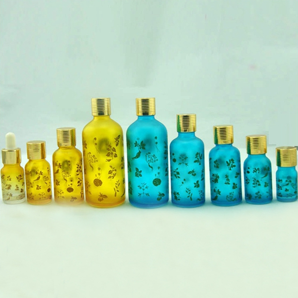20ml/30ml/50ml etc high grade hena Bottle with beautiful metal cover