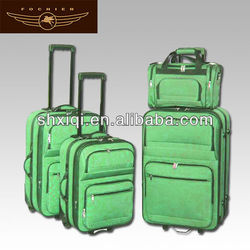 Trolley with push button luggage