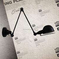 loft reading folding wall lamp sconce light