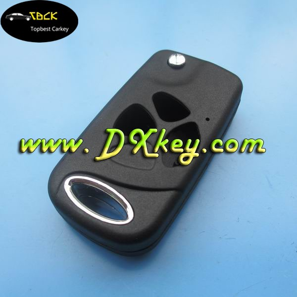 3 buttons remote key holders Toyota 2007 style Camry key blank