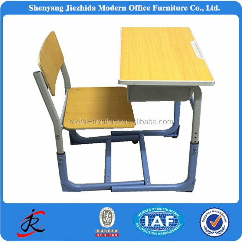 primary school furniture school adjustable single used student desks cheap