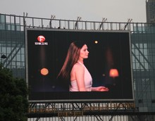 High resolution P6 Full Color outdoor LED Advertising Display Screen