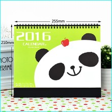 HIgh Quality New Design Popular Model Printable Desk / Table Calendar
