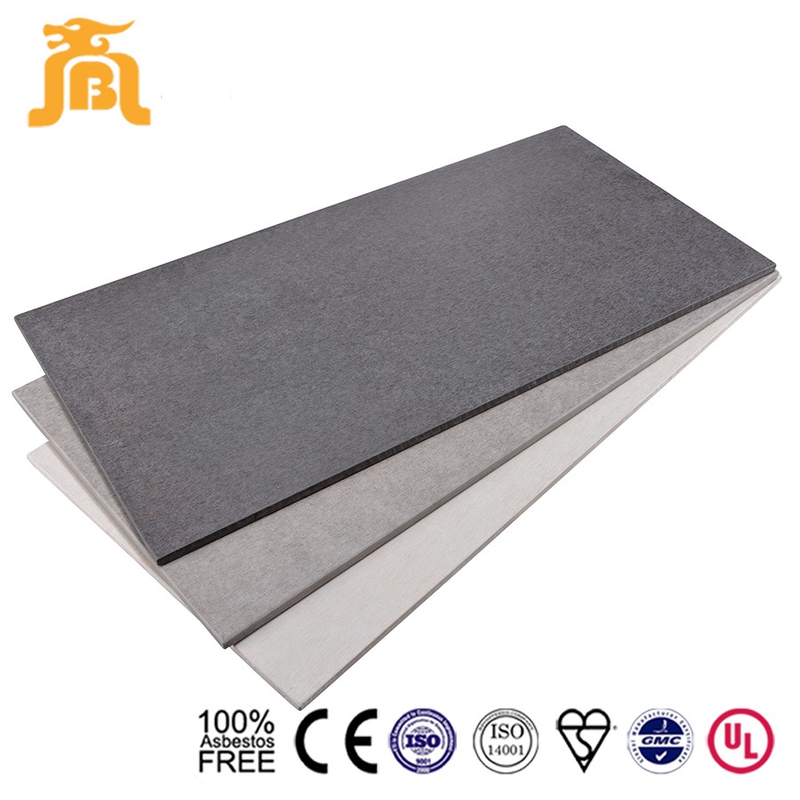 Light weight water resistant cement fiber interior wall paneling