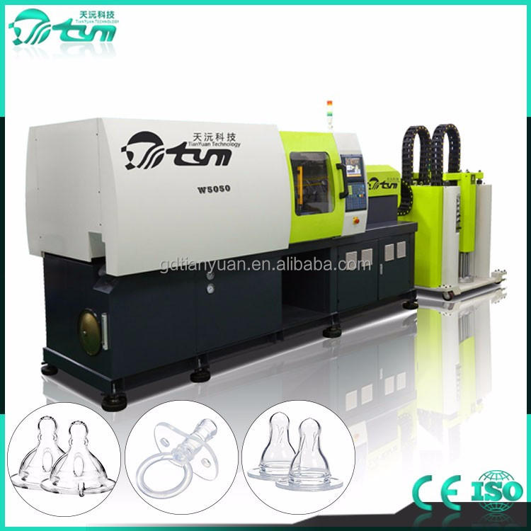 High quality silicone baby nipple making machine lsr injection molding machine