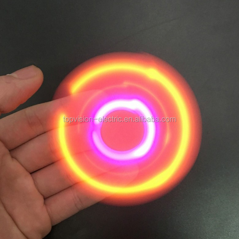 The Top Selling Flashing Spinner Toy With Fast Speed Led Spinner