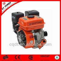 1Cylinder 4Stroke Air-Cooled Small 6HP Gasoline Engine DT168 4 Stroke