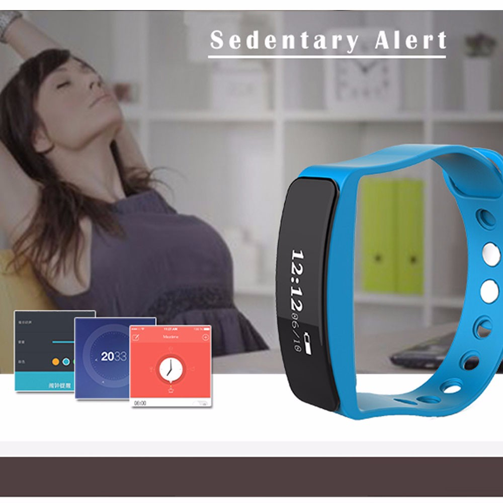 Healthy Smart Bracelet Heart Rate Sleep Monitor Bluetooth Smart Pedometer Sports Waterproof Wristband For Android IOS