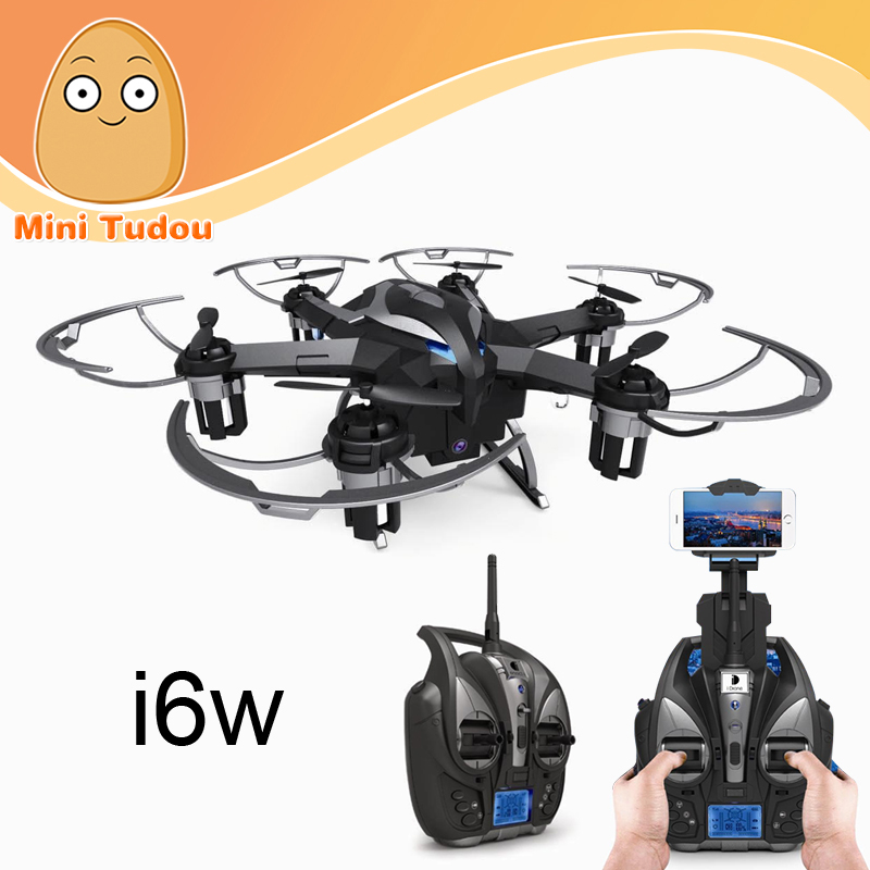 Minitudou MT- i6w 2.4G 6-axis Phone - Controlled rc Drone with WiFi Camera