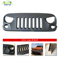 lantsun J211 Black Eagle Eye Falcon Eye AutoBot Front Grille for 07-17 J eep Wrangler