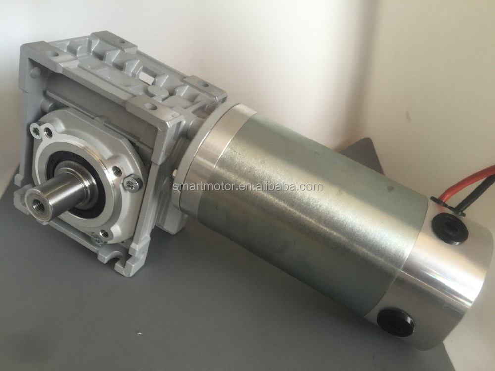 90mm Big Power PM DC Electric Worm Gear Motor, with NMRV Gearbox