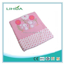 New products 2016 pink baby rabbit blanket