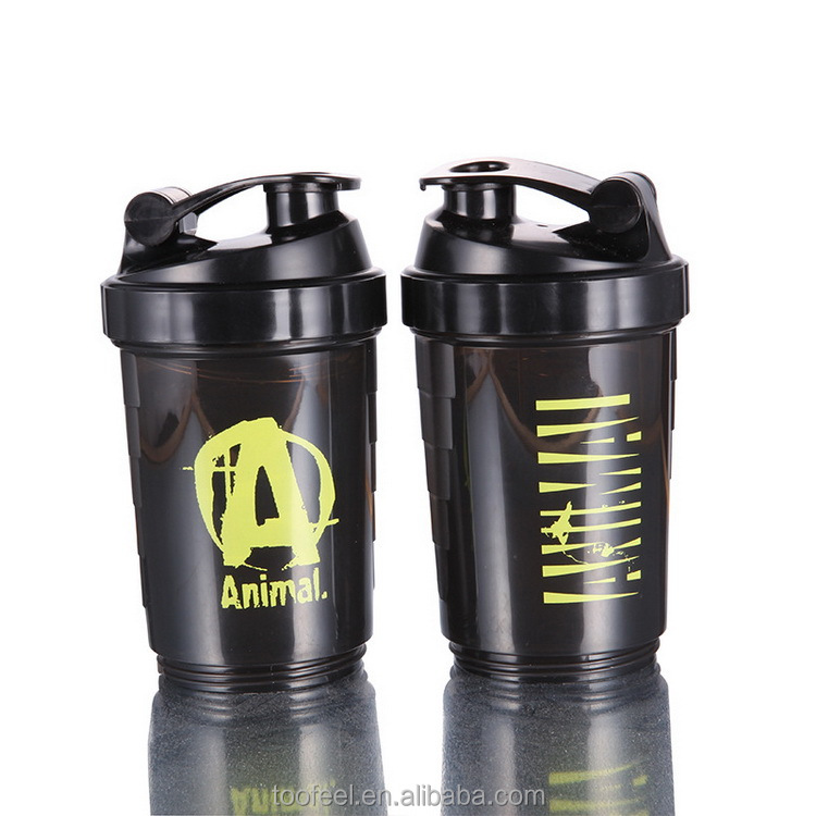 Protein Shaker Bottle With Storage Built-in Mixing Ball Bpa Free joyshaker Bottle For Sports And Gym