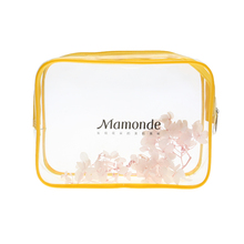 New products 2017 Waterproof material clear vinly travel transparent pvc cosmetic bag pvc