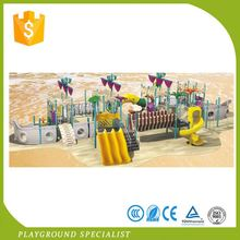 China Factory Made Plastic Used Outdoor Playground Plan
