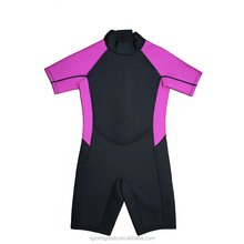 Custom Design Stretchy Fabric 1.5mm Neoprene Wetsuit Shorty