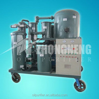 ZHONGNENG Mobile Poor Lube Oils Purification System TYA For Motor-Making Industry