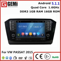 China factory car radio dvd gps navigation system for VW PASSAT 2015 rear camera