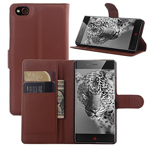 New Arrival Flip Stand Wallet PU Leather Case Cover for ZTE Nubia Z9 Mini Case