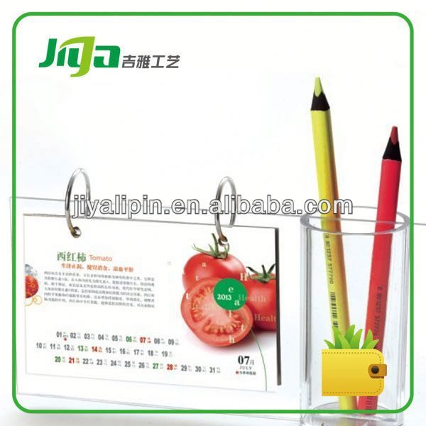 OEM sliding calendar calculator for promotion in China