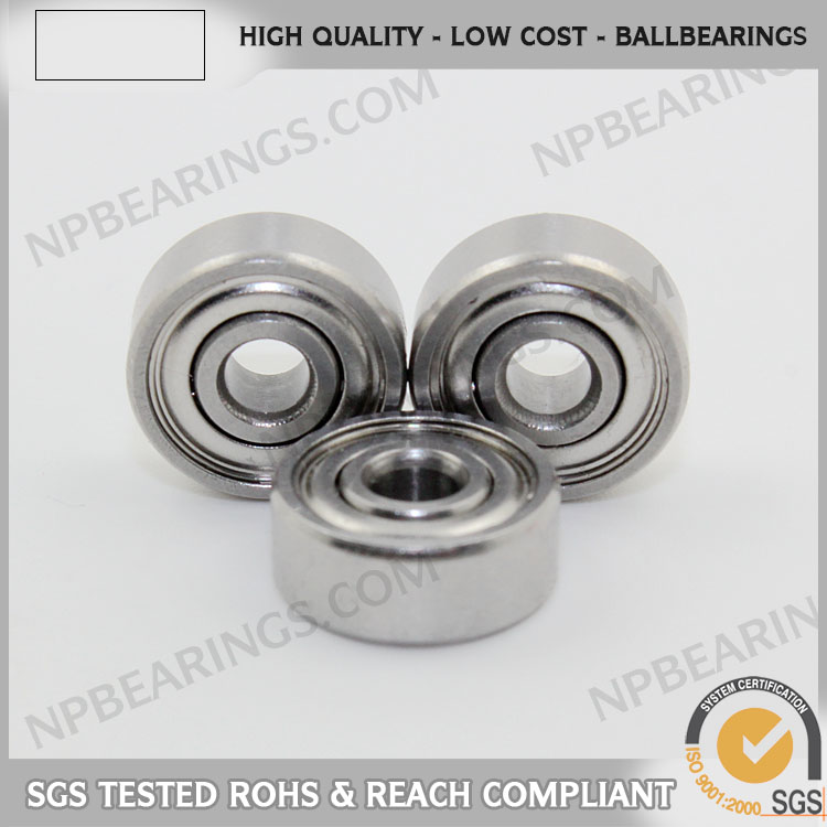 cn ball bearing rubber 5x8x2 5mm/8mm/2mm stainless bearing