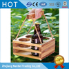 Custom Solid Wooden Beer Carrier Wood