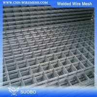 SUOBO Concrete Reinforcement Wire Mesh Panel Concrete Reinforcement Wire Mesh Panel Concrete Wire Mesh Rolls