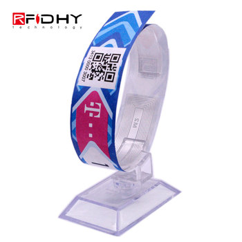 I Code Sli RFID Disposable Eco-Friendly Paper Wristband