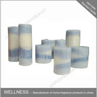 wholesale different sizes classic layer pillar candles
