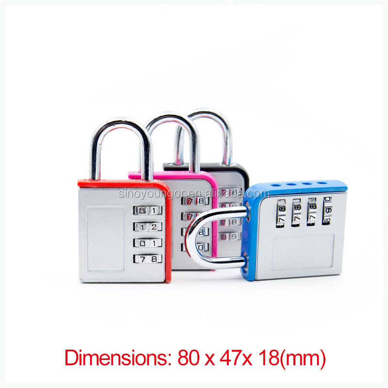 Customized competitive industrial lock outdoor combination padlock