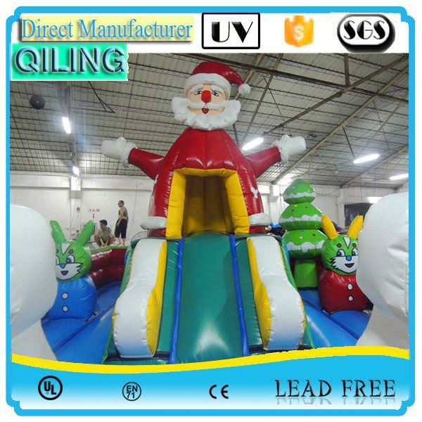 qiling Alibaba party game pet structure inflatable bouncer for promotion