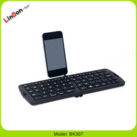 High Quality Portable Design Wireless Folding Electronic Bluetooth Keyboard for Ipad2/3/4 Android Tablet