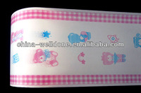 3color print PE backsheet for baby diapers