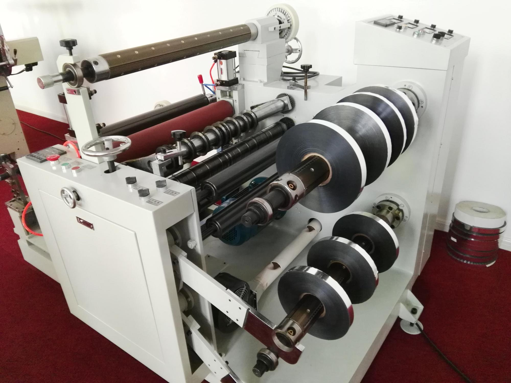 Automatic Slitting Machine With 6 Inch Rewinding Laminating