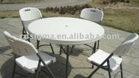 2015 Hot sale 160 CM High quality blow plastic molded round table for sale