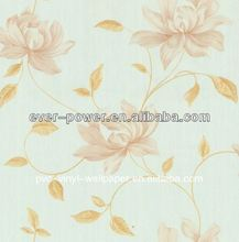 beautiful bedroom decoration wallpaper/wallcovering papier peint moderne pour le salon