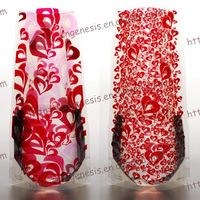 Straight Body Foldable Plastic Flower Vase