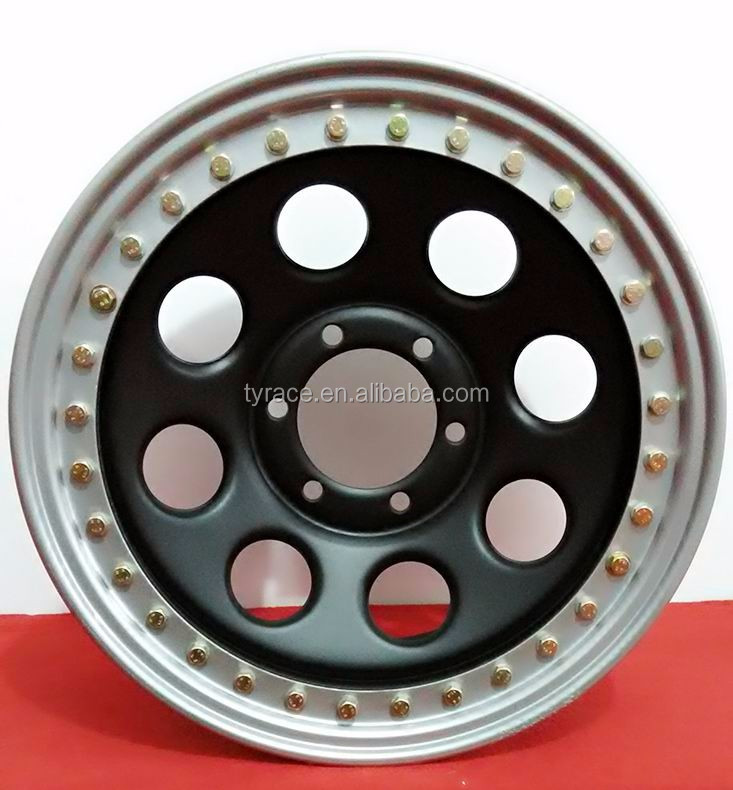 STEEL BEADLOCK 4X4 SUV WHEEL RIMS 17X12