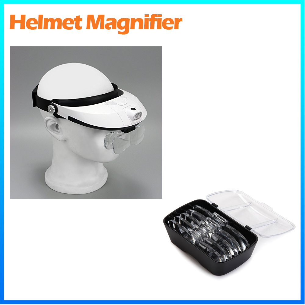 DH-87002 plastic magnfier headband magnifying