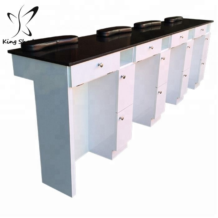 Wholesale wood nail desk - Online Buy Best wood nail desk from China ...