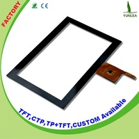 10.1 inch capacitance multi touch lcd panel 1280x800 4-wire resistive tft touch screen