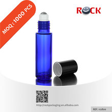 Wholesale 3ml 5ml 10ml high quality blue glass bottle,roller ball bottle for essential oil with free samples_112800