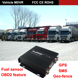 VPS protection Full D1 HDD 3g mobile cctv dvr 4CH HDD MDVR with 3G WIFI GPS