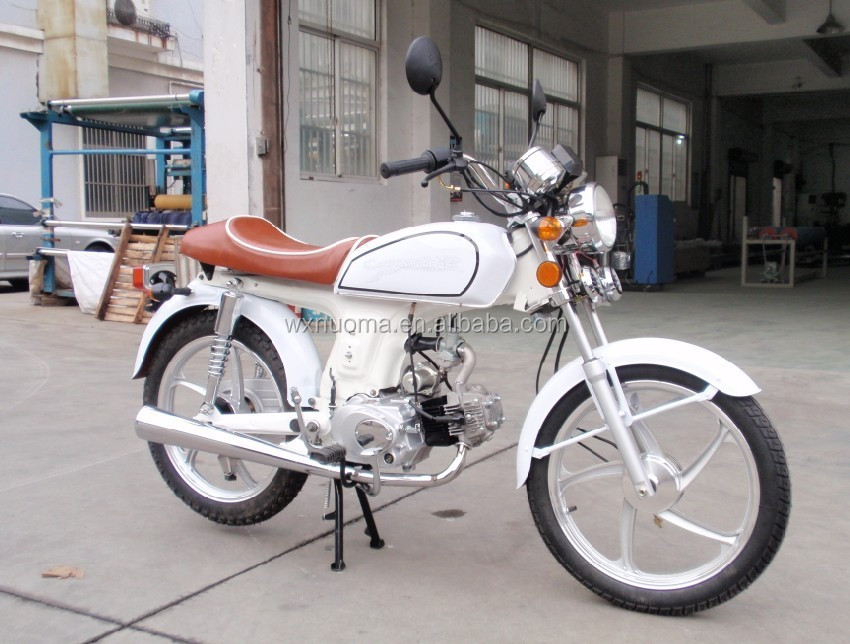 New retro Alpha 110cc motorcycle with EEC certification , retro style
