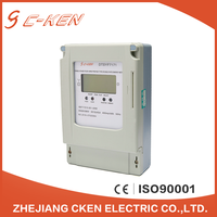 Cken 2016 China 3X220/380V 50Hz LCD Three Phase Power Energy IC Card Prepaid Type Kwh Meter , Prepaid Smart Electrical Kwh Meter