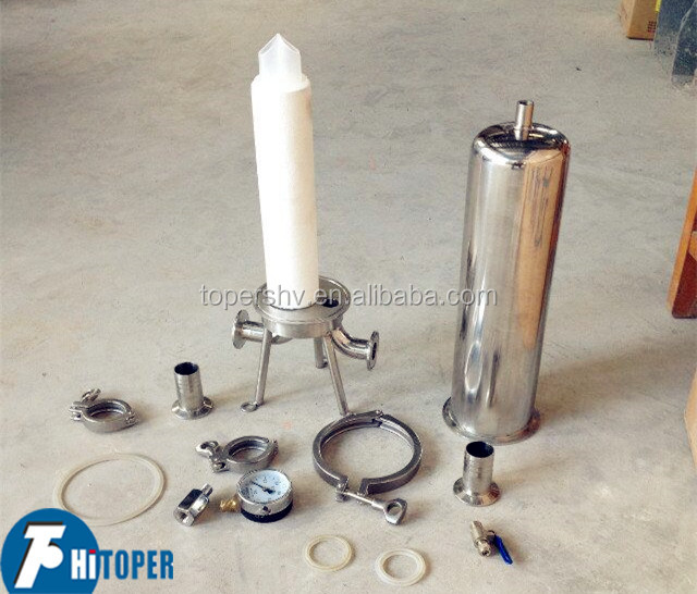 Water treatment equipment suppliers in China of best sold cartridge filter