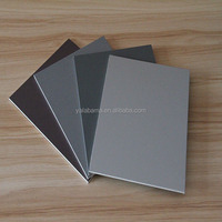 12 article production line acp cladding composite panels, aluminium composite panel roof, pvdf coating acp sheet