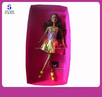 11.5 Inch Modern Style Black Barbie Doll for Girls